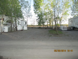 RVs. camping trailers, riverside sites, full service sites