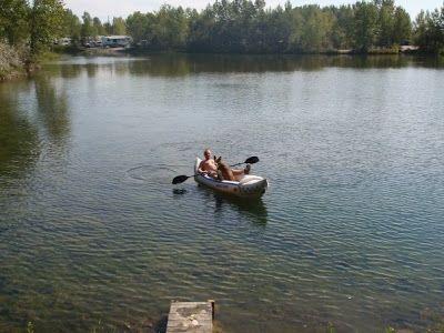 Kayaking the Lake