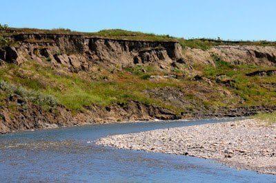 Sheep River at Riverbend Campground