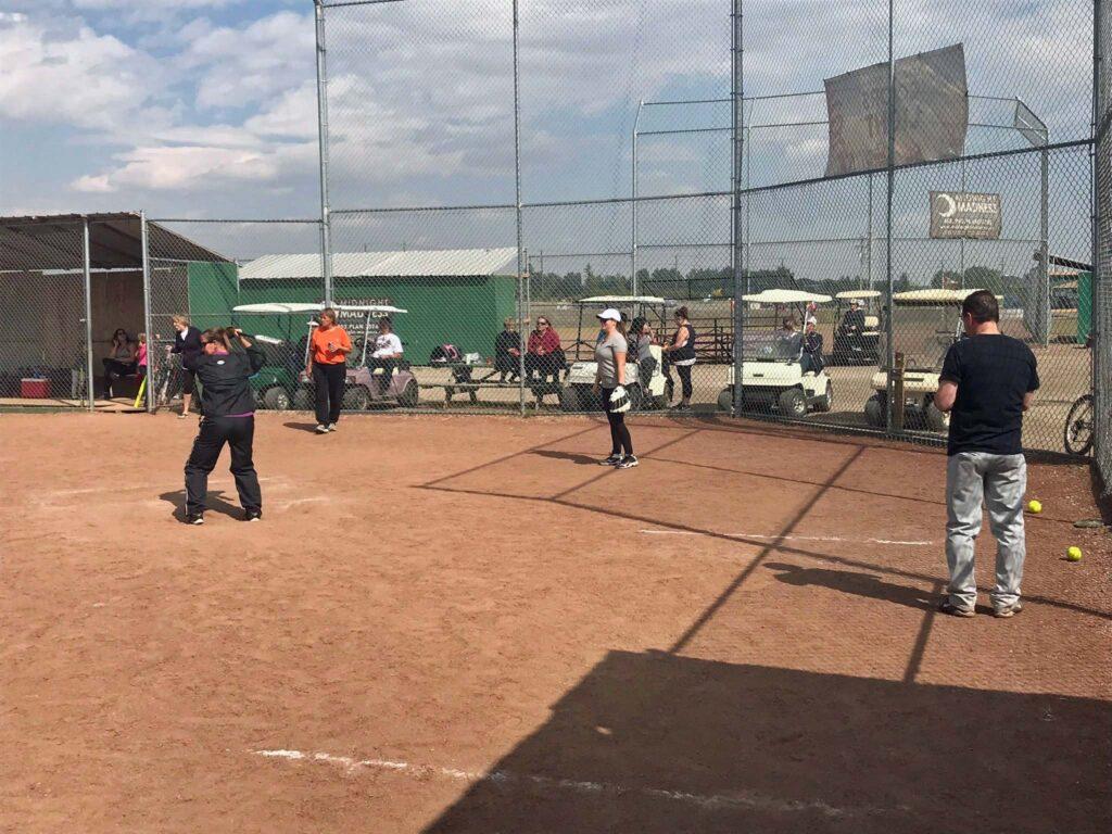 Baseball at On Deck facility