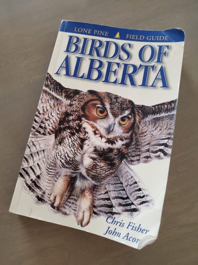 birds of Alberta field guide